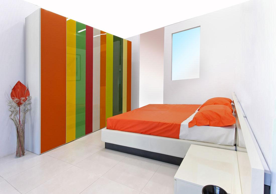 חדר שינה צבעוני לילדים