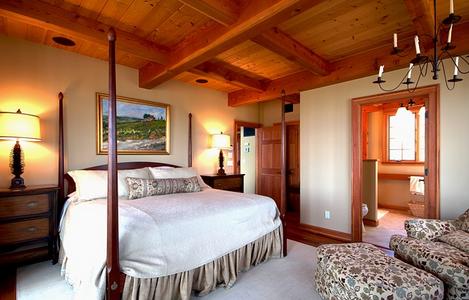 חדר שינה נוח ואינטימי