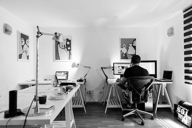 עיצוב המשרד הביתי