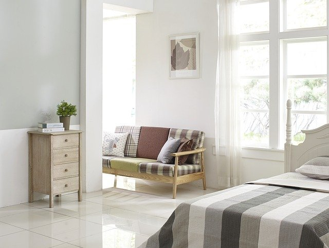 חדר השינה לאלרגיים לאבק