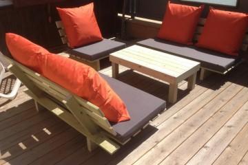 פינת ישיבה למרפסת.. לשדרוג מראה הגינה והבית שלך