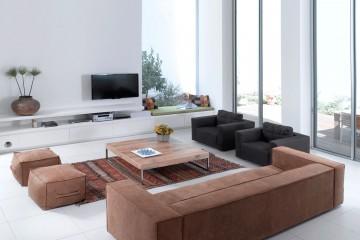 אוהבים עיצוב פנים מודרני? התאימו את ספות הסלון לקו העיצוב של הבית